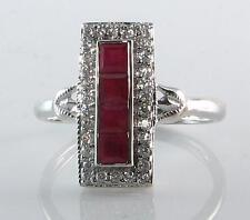 White Gold Ring Vintage Fine Jewellery