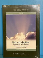 THE GREAT COURSES ~ God and Mankind: Comparative Religions ~ (8) CDs + Guidebook
