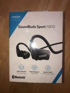 Anker SoundBuds Sport NB10 Wireless Neckband Earbuds - Black