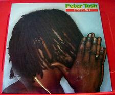 Peter Tosh Mystic Man LP UK ORIG 1979 Roots Rolling Stones CUN 39110 VINYL