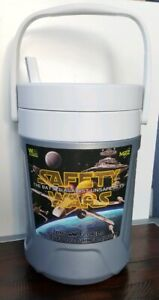 """Coleman """"Safety Wars"""" Gallon Beverage Water Jug Cooler With Spout - RARE"""