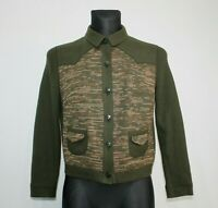 RALPH Germany Green Pure Wool Jacket Hunting Shooting Country Womens UK 18 GER44