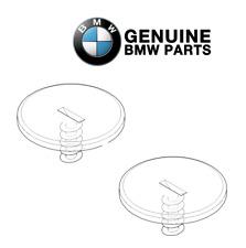 For BMW E46 E60 E82 Pair Set of 2 Thread Floor Mat Retainer D=62MM Genuine