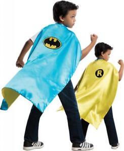 Unisex Child BATMAN & ROBIN Reversible Superhero Cape Accessory