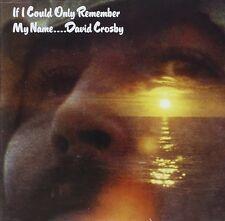 DAVID CROSBY IF I COULD REMEMBER MY NAME VINILE LP 180 GRAMMI NUOVO SIGILLATO