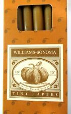 """WILLIAMS-SONOMA  """"10"""" TAPER / THANKSGIVING CANDLES""""  (SET OF 12)  NEW IN BOX !!!"""