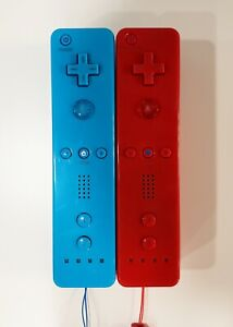 Red & Blue Remote Controller for Nintendo Wii *TESTED