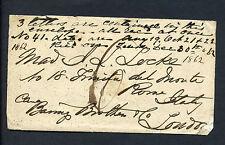 Confederate States: Locke Correspondence Outgoing Blockade-Run Cover w/CSA Cert!