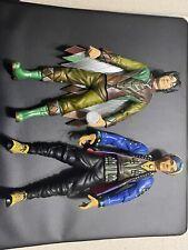 Universal Studios Mystery Men Action Figure Lot The Spleen & The Blue Raja 1999