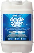 Simple Green Aircraft Precision Cleaner Liquid Upholstery Vinyl Extreme 5 Gallon