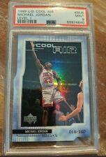 Michael Jordan 1999 UD Upper Deck Cool Air Level 1 Die cut /100 PSA 9 #MJ6 RARE