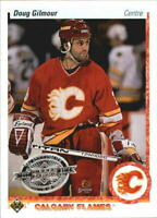 2010-11 (FLAMES) Upper Deck French 90-91 Buybacks #271 Doug Gilmour