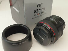 Canon EF 85mm F/1.2 L II USM Lens Very Good Condition