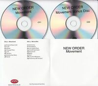NEW ORDER Movement Deluxe Edition 2008 UK remastered 17-track promo test 2-CD