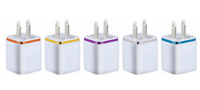 5X USB Double Wall Fast Charger Adapter 1A 2A 5V  For Android / Galaxy / iPhone