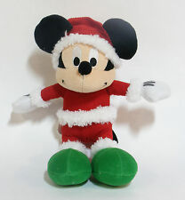 MICKEY MOUSE IN SANTA SUIT & HAT CHRISTMAS PLUSH TOY