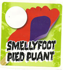 Unusual: Smelly Foot, Ice Cream Truck Decal/Sticker (French: Pied Puant)
