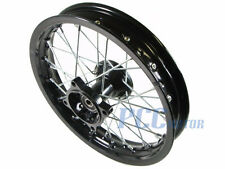 "14"" BLACK FRONT RIM WHEEL SDG COOLSTER TAOTAO 107 125 PIT BIKE P RM08K"