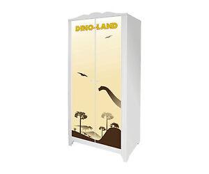 Dino-Möbelsticker / Aufkleber für IKEA HENSVIK  - Schranktür Höhe: 1512mm -IM120