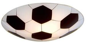 Childrens Football Ceiling or Wall Light- Glass Novelty Light