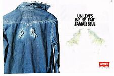 Publicite ADVERTISING 1993 levi's (2p) ready to wear jackets