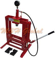 10 Ton Hydraulic Shop Press Floor Bench Top w/ Pressure Gauge