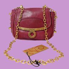 ZAC POSEN Z SPOKE MELODY Pink Leather Shoulder Bag Msrp $295.00