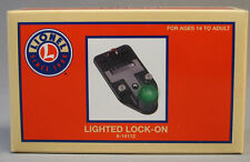 LIONEL TRAIN TRACK LIGHTED LOCKON O 027 lock on terminal connection 6-14112 NEW
