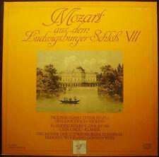 LP MOZART Ludwigsburg Castillo VII,violinkonzert,concierto para piano,Gönnenwein