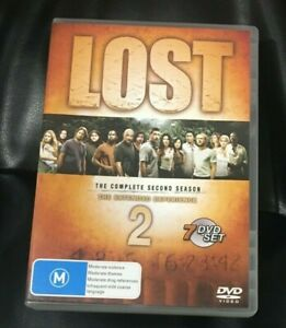 Lost - The Extended Experience : Season 2 (2007 : 7 Disc DVD) VGC Region 4