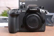 Panasonic Lumix GH5 Mirrorless Micro Four Thirds Camera Body w/Strap and Box
