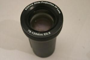 Kodak 75-120mm F3.5 Slide Projetion FF lens