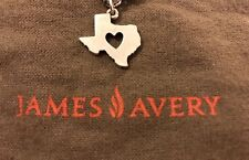 James Avery Deep in the Heart of Texas Charm / Pendant 925 Sterling Silver