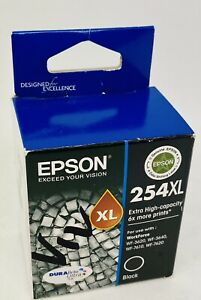 Epson 254XL (C13T254192) Black Ink Cartridge: Brand New - Best Before 2017