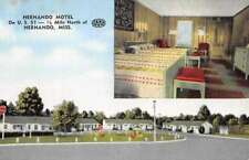 Hernando Mississippi Motel Multiview Antique Postcard K73346