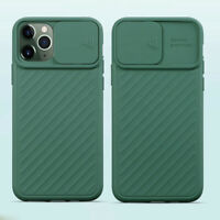 Case For iPhone 11 Pro Max XS XR 8 7 6S Plus Slide Camera Protection Phone Cover