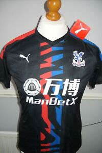 Ladies Crystal Palace regular fit away shirt size 12 new with tags