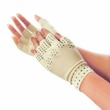 Health Magnetic Anti Arthritis Compression Therapy Gloves Hands Pain Relief Hot