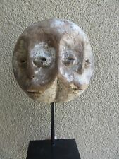 Antique African Lega Double Face Bwami Initiation Mask/Old Estate Collection