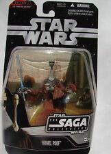 Star Wars SAGA coll YARAEL POOF TPM    MOC carded action Figure  2006 316