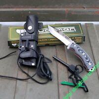 CUCHILLO JJ SK1 M/MICARTA ACERO BOHLER KNIFE SURVIVAL JJSK-1 124-M NOIR