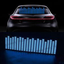 LED Equalizer Aufkleber Licht Folie Musik Rhythm Lampe Auto Fenster Sticker DIY
