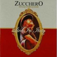 """Zucchero """"LIVE IN ITALY"""" CD + DVD NUOVO"""