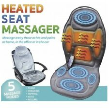 Home Office Car HEATED SEAT MASSAGER Soothe Aches & Pains 5 MODES & TIMER