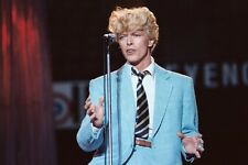 "8""*10"" concert photo of David Bowie playing at Feyenoord Stadium, Rotterdam 1983"