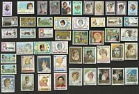 50 LADY DIANA & FAMILYON STAMPS