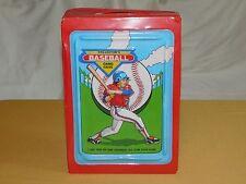 VINTAGE 1987 TARA TOY COLLECTOR'S BASEBALL CARD PLASTIC CASE
