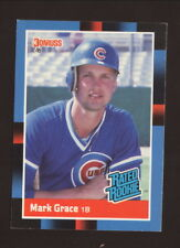 Mark Grace Rookie Card--1988 Donruss Rated Rookie Baseball--Chicago Cubs