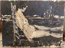 Urbain Huchet Nu huile oil painting 1961