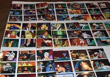 The Adventures of Batman and Robin Trading Card Set 1995 Skybox Tons of extras!